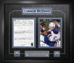 West_Coast_Authentic_NHL_Oilers_Connor_McDavid_Autographed_Framed_Photo
