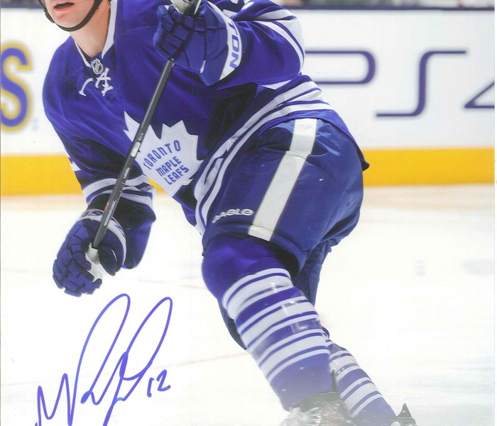 West_Coast_Authentic_NHL_Leafs_Mason_Raymond_Autographed_Photo