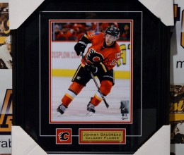 West_Coast_Authentic_NHL_Flames_Johnny_Gaudreau_Unsigned_Photo