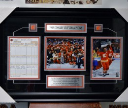 West_Coast_Authentic_NHL_Flames_Unsigned_Framed_Photo