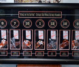 West_Coast_Authentic_NHL_Red_Wings_Unsigned_Framed_Photo