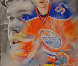 West_Coast_Authentic_NHL_Oilers_Connor_McDavid_Unsigned_Canvas