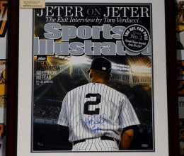 West_Coast_Authentic_MLB_Yankees_Derek_Jeter_Autographed_Framed_Photo