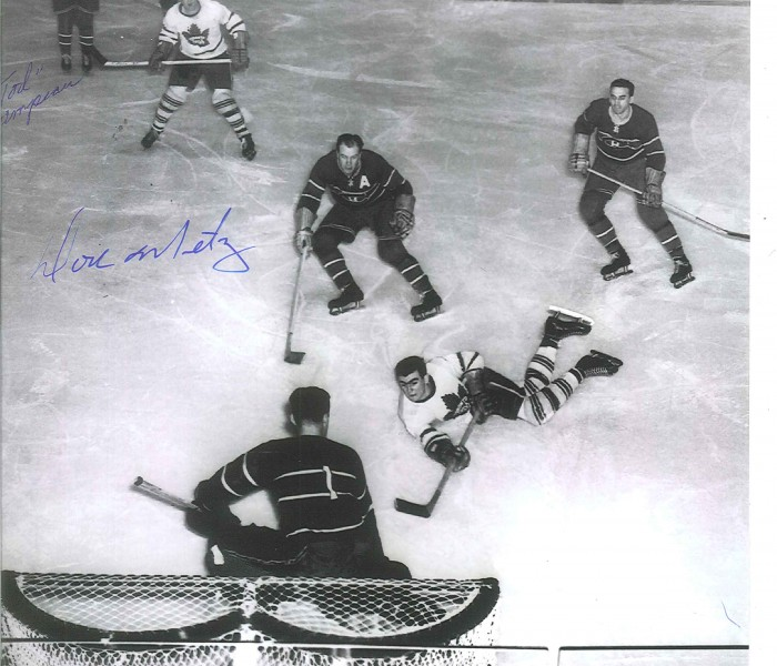 West_Coast_Authentic_NHL_Leafs_Don_Metz_Autographed_Photo