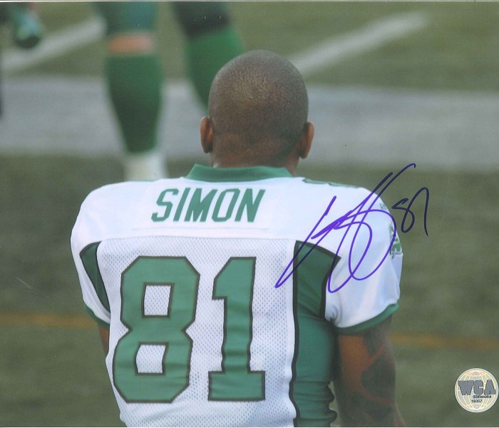 West_Coast_Authentic_CFL_Roughriders_Geroy_Simon_Autographed_Photo3