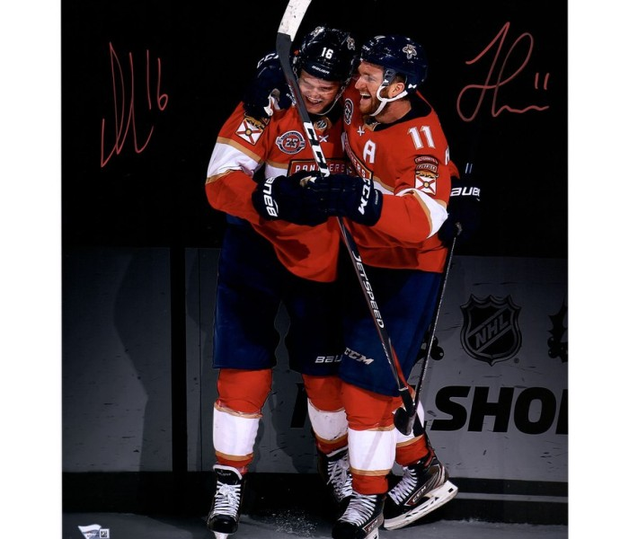 West_Coast_Authentic_Huberdeau_Barkov_Autographed_Photo