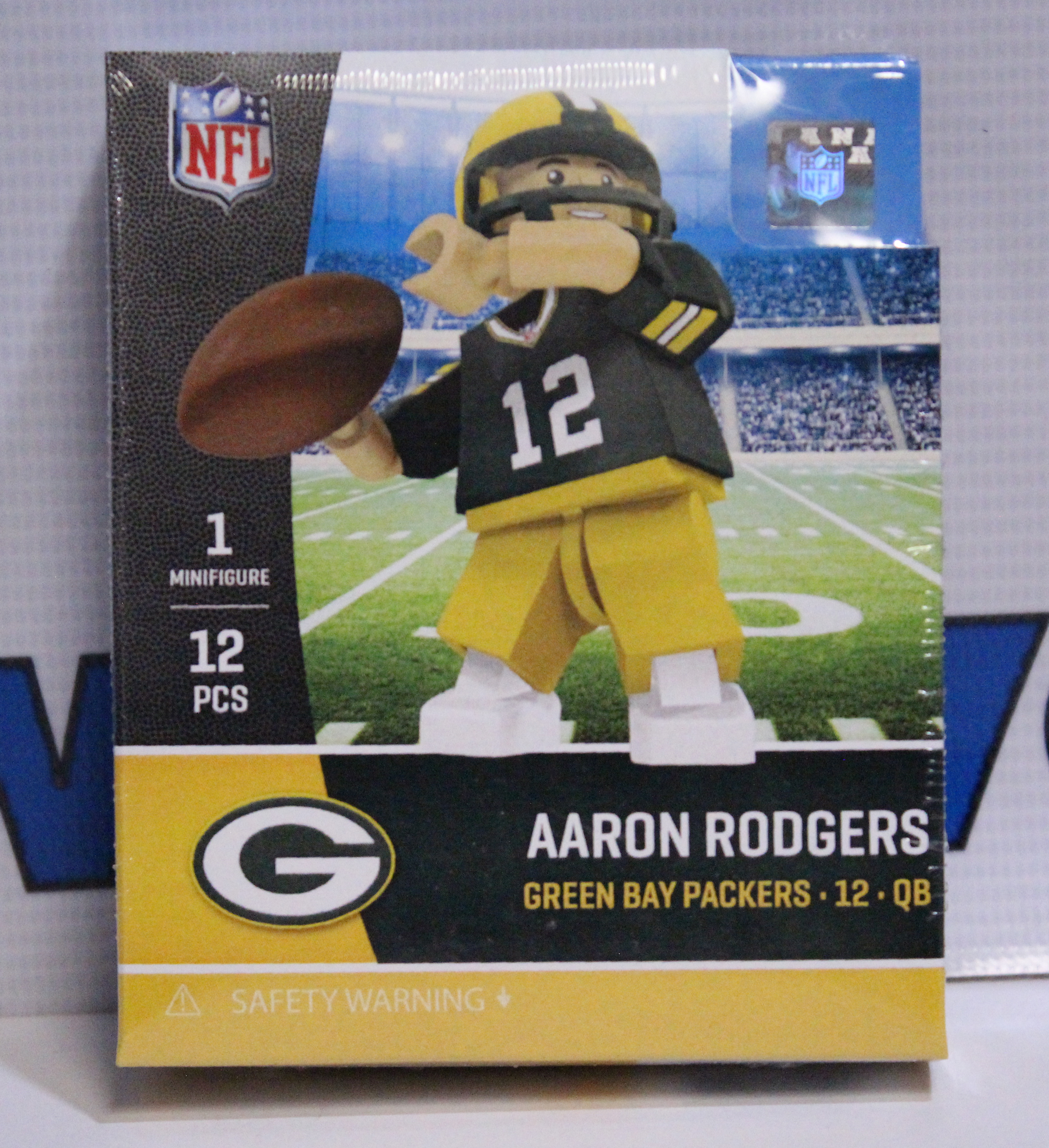 new style bf9fd 7df28 Aaron Rodgers Green Bay Packers Oyo Toys
