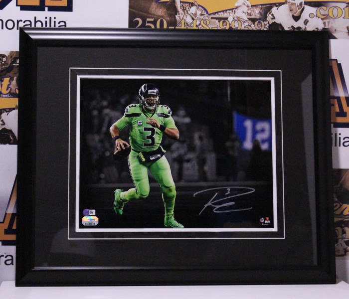 West_Coast_Authentic_Russell_Wilson_Autographed_Photpo