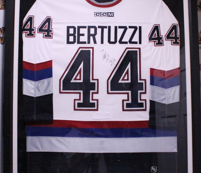 West_Coast_Authentic_Todd_Bertuzzi_Autographed_Framed_Jersey