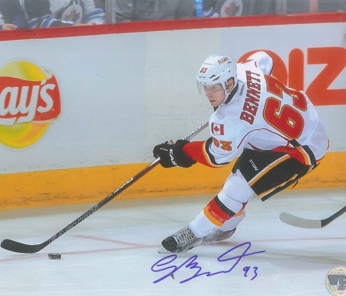West_Coast_Authentic_Sam_Bennett_Autographed_Photo